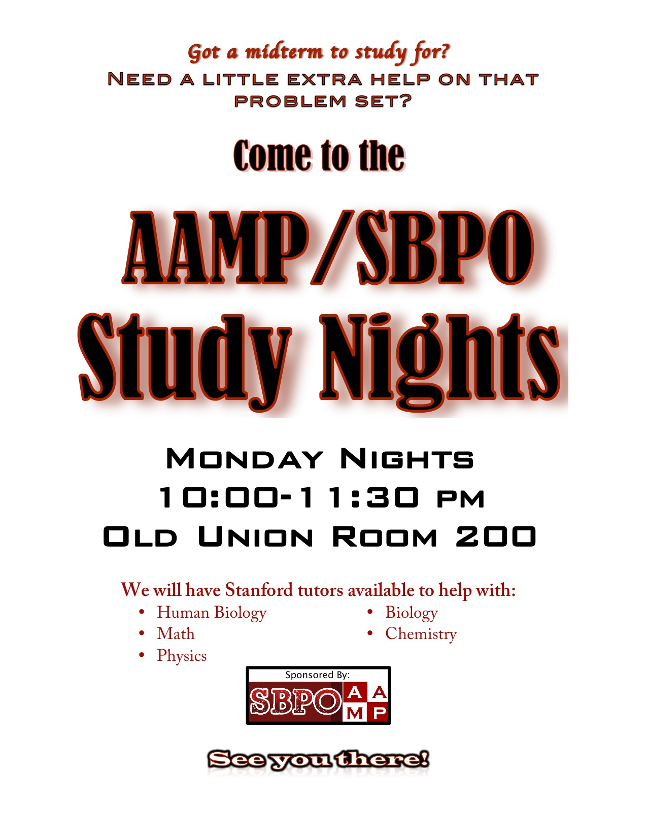 Aampspbo study nights aamp aampspbo study nights stopboris Image collections